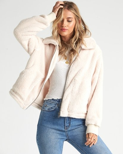 1 Always Cozy - Polarfleece-Jacke für Frauen Mehrfarbig R3WA05BIW9 Billabong