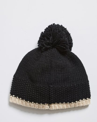 2 ZOE BEANIE Black R9BN02BIW9 Billabong