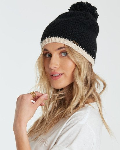 0 ZOE BEANIE Black R9BN02BIW9 Billabong
