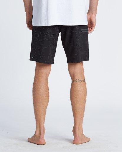 """6 Adiv Rflx Airlite 19"""" - Bañador de surf de pantalón de alto rendimiento para Hombre Negro S1BS04BIP0 Billabong"""