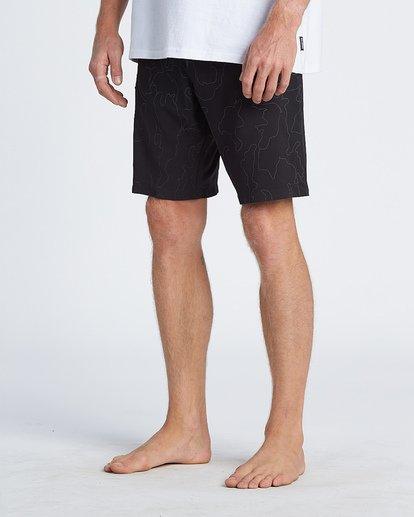 """7 Adiv Rflx Airlite 19"""" - Bañador de surf de pantalón de alto rendimiento para Hombre Negro S1BS04BIP0 Billabong"""