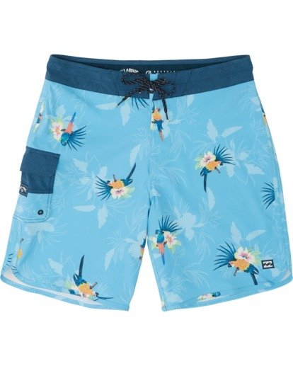 "0 73 Airlite 19"" - Performance Board Shorts for Men Blue S1BS07BIP0 Billabong"