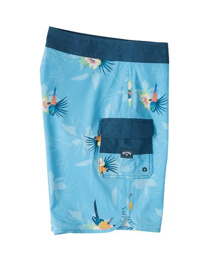 "3 73 Airlite 19"" - Performance Board Shorts for Men Blue S1BS07BIP0 Billabong"