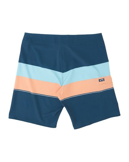 "1 Momentum Airlite 19"" - Performance Striped Board Shorts for Men Blue S1BS19BIP0 Billabong"