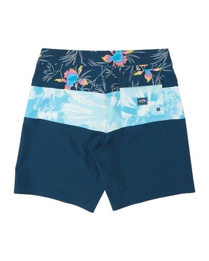 """1 Tribong Pro 19"""" - Bañador de surf de pantalón con estampado para Hombre Azul S1BS26BIP0 Billabong"""