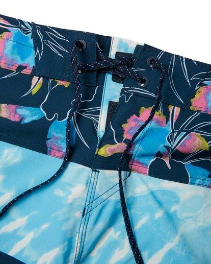 """4 Tribong Pro 19"""" - Bañador de surf de pantalón con estampado para Hombre Azul S1BS26BIP0 Billabong"""