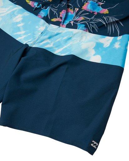 """5 Tribong Pro 19"""" - Bañador de surf de pantalón con estampado para Hombre Azul S1BS26BIP0 Billabong"""