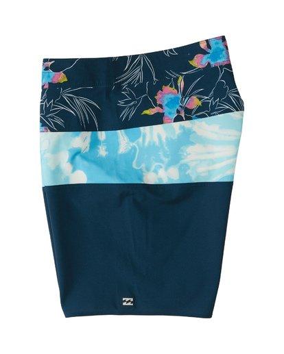 """2 Tribong Pro 19"""" - Bañador de surf de pantalón con estampado para Hombre Azul S1BS26BIP0 Billabong"""