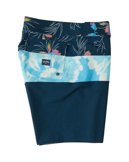 """3 Tribong Pro 19"""" - Bañador de surf de pantalón con estampado para Hombre Azul S1BS26BIP0 Billabong"""