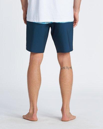 """8 Tribong Pro 19"""" - Bañador de surf de pantalón con estampado para Hombre Azul S1BS26BIP0 Billabong"""