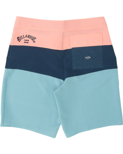 "1 Tribong Pro Solid 19"" - Colour-Blocked Board Shorts for Men Blue S1BS29BIP0 Billabong"