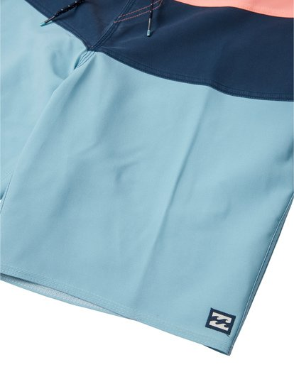 "5 Tribong Pro Solid 19"" - Colour-Blocked Board Shorts for Men Blue S1BS29BIP0 Billabong"