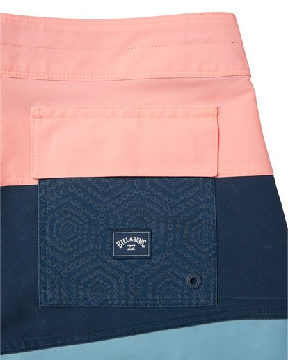 "6 Tribong Pro Solid 19"" - Colour-Blocked Board Shorts for Men Blue S1BS29BIP0 Billabong"