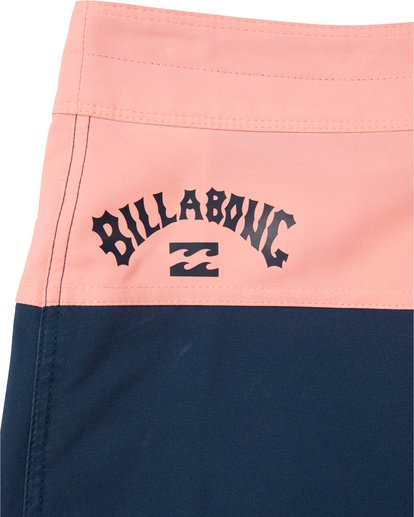 "7 Tribong Pro Solid 19"" - Colour-Blocked Board Shorts for Men Blue S1BS29BIP0 Billabong"