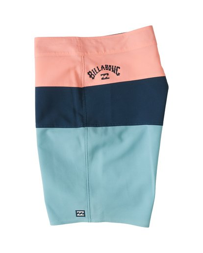 "2 Tribong Pro Solid 19"" - Colour-Blocked Board Shorts for Men Blue S1BS29BIP0 Billabong"