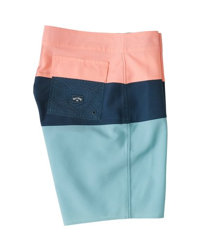"3 Tribong Pro Solid 19"" - Colour-Blocked Board Shorts for Men Blue S1BS29BIP0 Billabong"