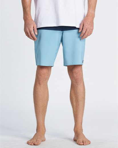 "8 Tribong Pro Solid 19"" - Colour-Blocked Board Shorts for Men Blue S1BS29BIP0 Billabong"