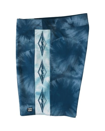 "2 D Bah Pro 19"" - Printed Board Shorts for Men Blue S1BS30BIP0 Billabong"