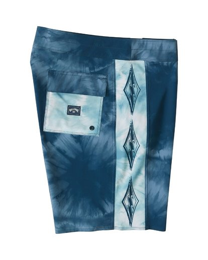 "3 D Bah Pro 19"" - Printed Board Shorts for Men Blue S1BS30BIP0 Billabong"