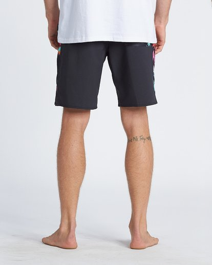 """8 D Bah Pro 19"""" - Bañador de surf de pantalón con estampado para Hombre Negro S1BS30BIP0 Billabong"""