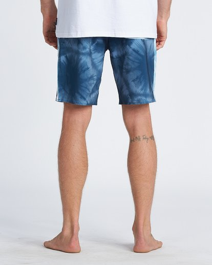 "8 D Bah Pro 19"" - Printed Board Shorts for Men Blue S1BS30BIP0 Billabong"
