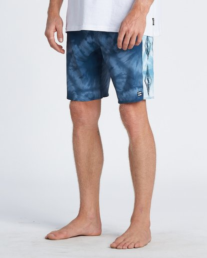 "9 D Bah Pro 19"" - Printed Board Shorts for Men Blue S1BS30BIP0 Billabong"