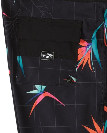 "8 Sundays Pro 19"" - Printed Board Shorts for Men Black S1BS31BIP0 Billabong"