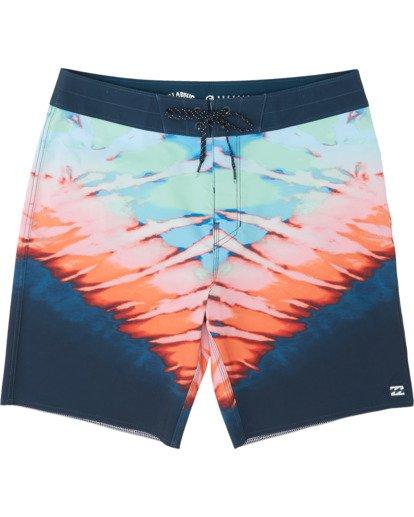 "2 Sundays Pro 19"" - Printed Board Shorts for Men Multicolor S1BS31BIP0 Billabong"