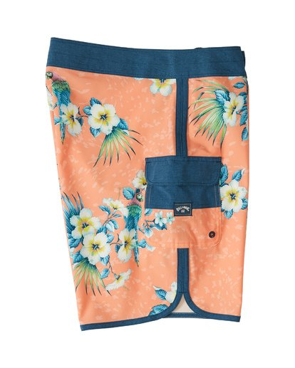 "3 73 Line Up Pro 19"" - Printed Board Shorts for Men Multicolor S1BS35BIP0 Billabong"