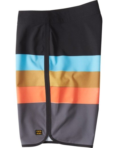 """8 73 Stripe Pro 20"""" - Bañador de surf de pantalón de rayas para Hombre Negro S1BS36BIP0 Billabong"""