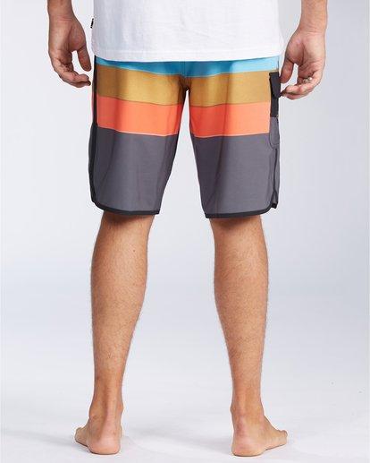 """1 73 Stripe Pro 20"""" - Bañador de surf de pantalón de rayas para Hombre Negro S1BS36BIP0 Billabong"""