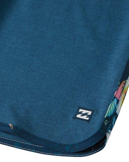 """7 73 Pro 20"""" - Bañador de surf de pantalón de alto rendimiento para Hombre Azul S1BS38BIP0 Billabong"""