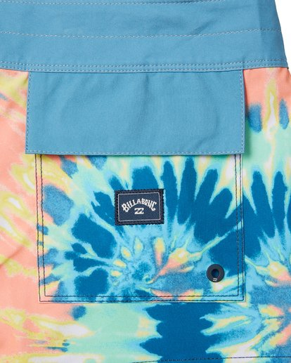 "5 Fifty 50 Pro 19"" - Printed Board Shorts for Men Multicolor S1BS39BIP0 Billabong"