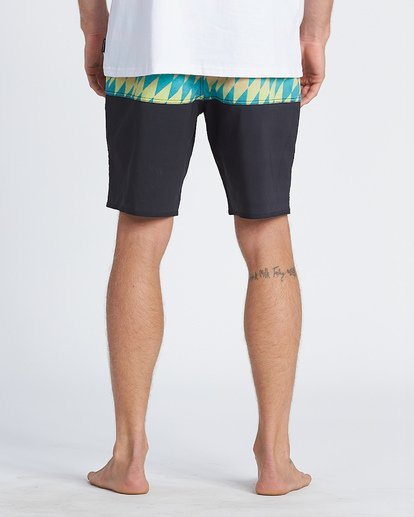"8 Fifty 50 Pro 19"" - Printed Board Shorts for Men Blue S1BS39BIP0 Billabong"