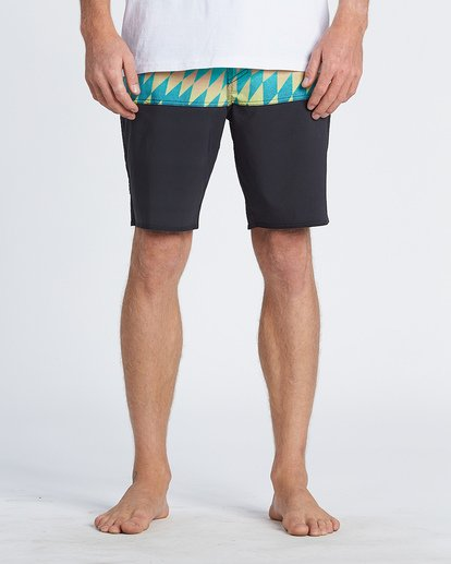 "7 Fifty 50 Pro 19"" - Printed Board Shorts for Men Blue S1BS39BIP0 Billabong"