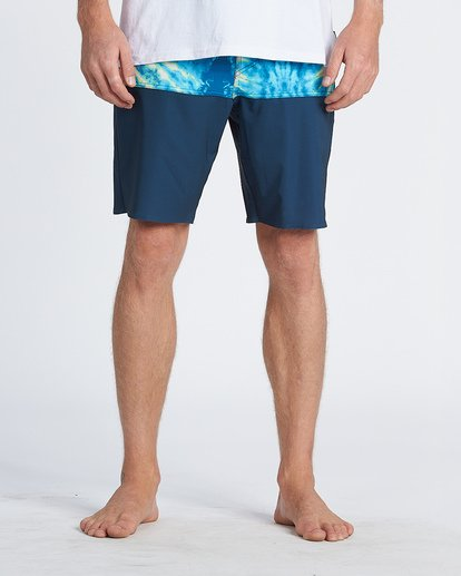 "6 Fifty 50 Pro 19"" - Printed Board Shorts for Men Multicolor S1BS39BIP0 Billabong"