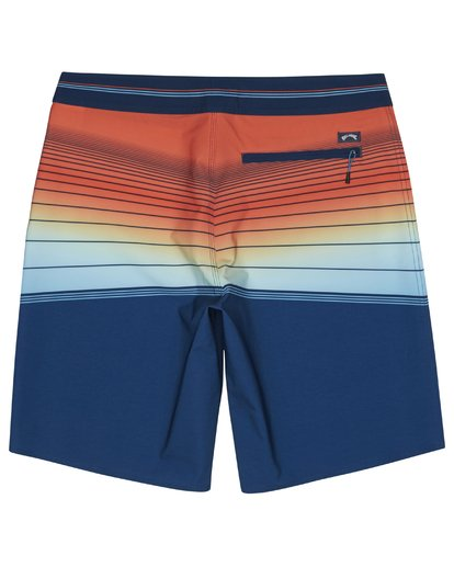 "3 North Point Pro 20"" - Performance Board Shorts for Men Blue S1BS41BIP0 Billabong"