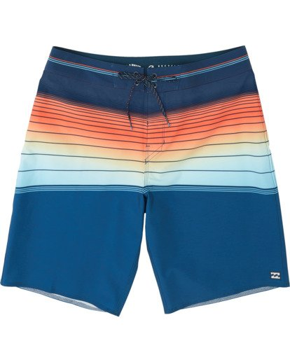 "2 North Point Pro 20"" - Performance Board Shorts for Men Blue S1BS41BIP0 Billabong"