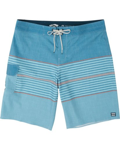 """2 All Day Pro 20"""" - Striped Board Shorts for Men Blue S1BS46BIP0 Billabong"""