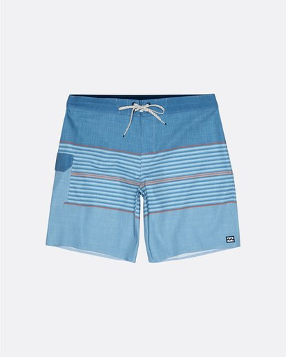 """0 All Day Pro 20"""" - Striped Board Shorts for Men Blue S1BS46BIP0 Billabong"""
