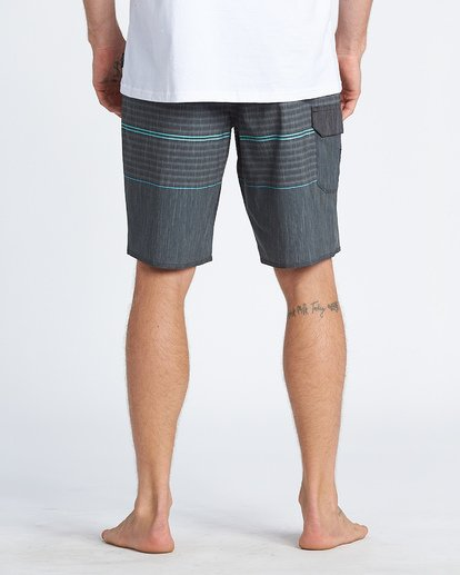 "10 All Day Pro 20"" - Striped Board Shorts for Men Grey S1BS46BIP0 Billabong"