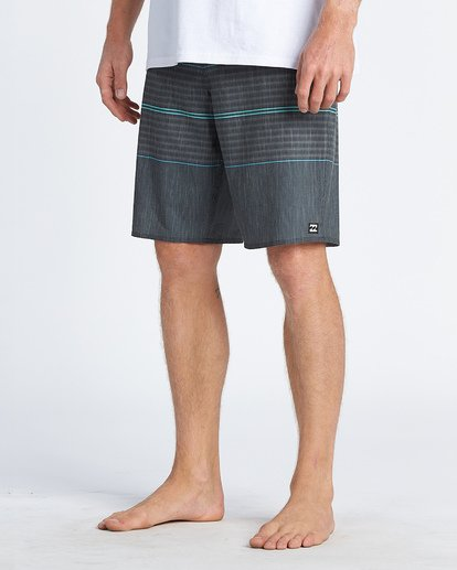 "11 All Day Pro 20"" - Striped Board Shorts for Men Grey S1BS46BIP0 Billabong"