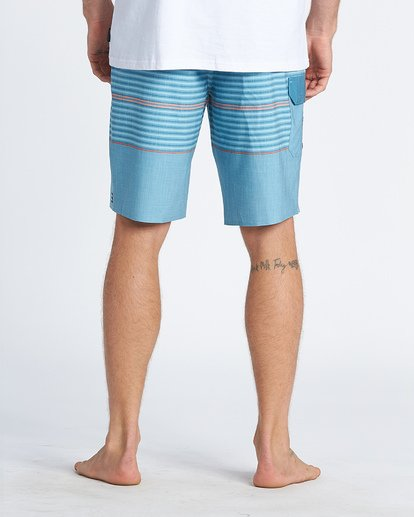 """5 All Day Pro 20"""" - Striped Board Shorts for Men Blue S1BS46BIP0 Billabong"""