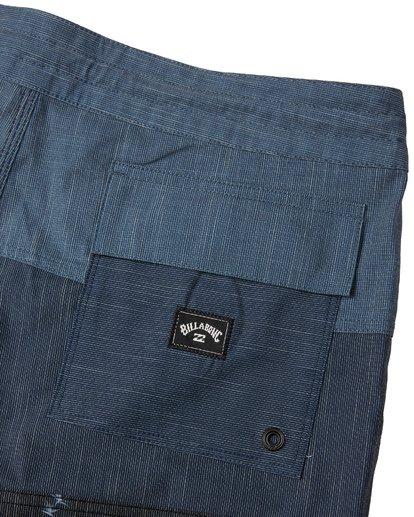 "8 Tribong 19"" - Colour-Blocked Board Shorts for Men Black S1BS49BIP0 Billabong"