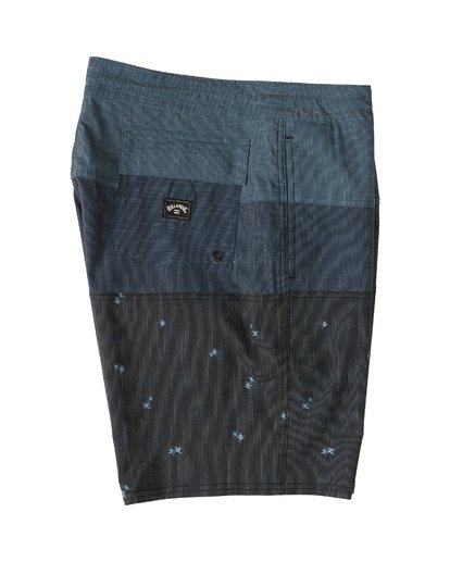 "5 Tribong 19"" - Colour-Blocked Board Shorts for Men Black S1BS49BIP0 Billabong"