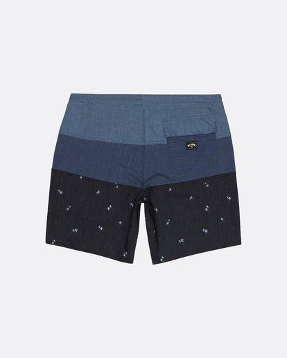 "1 Tribong 19"" - Colour-Blocked Board Shorts for Men Black S1BS49BIP0 Billabong"