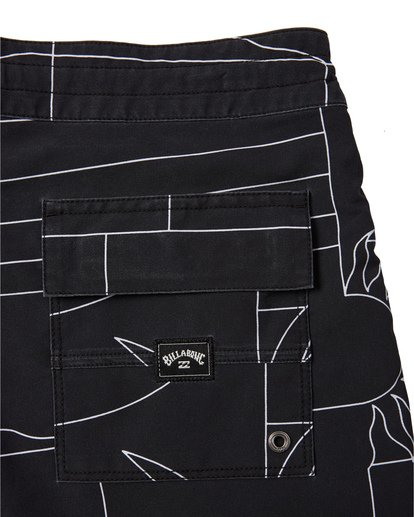 "8 Sundays 19"" - Printed Board Shorts for Men Black S1BS51BIP0 Billabong"