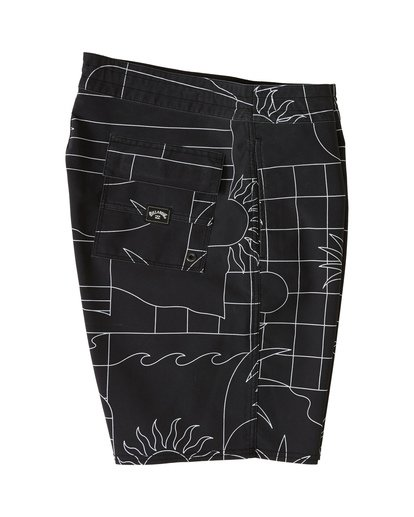 "5 Sundays 19"" - Printed Board Shorts for Men Black S1BS51BIP0 Billabong"