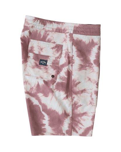 "5 All Day Riot 19"" - Tie-Dye Board Shorts for Men Purple S1BS53BIP0 Billabong"