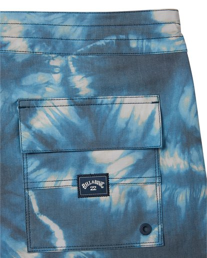 "8 All Day Riot 19"" - Tie-Dye Board Shorts for Men Purple S1BS53BIP0 Billabong"